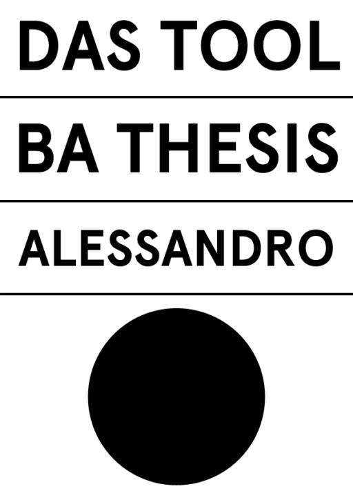 Alessandro Thüler Das Tool